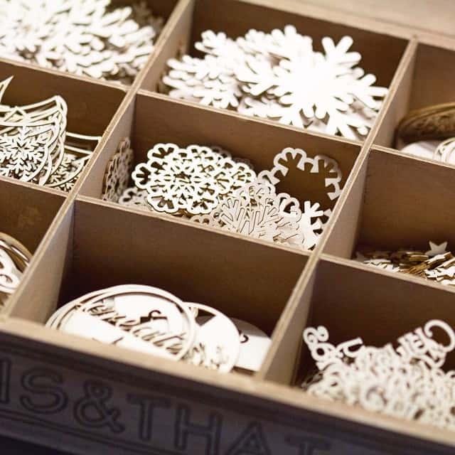 Vorräte aufgefüllt #wycinanka #weihnachten #sterne #star #schneeflocken #snowflakes #love #stempelwiese
