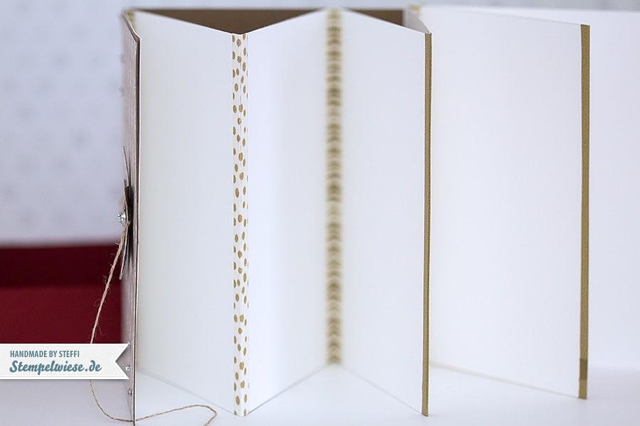 Stampin' Up! - Leporello - Album - Box - Streichholzschachtel - Fotoalbum - Schüttelstern ❤ Stempelwiese