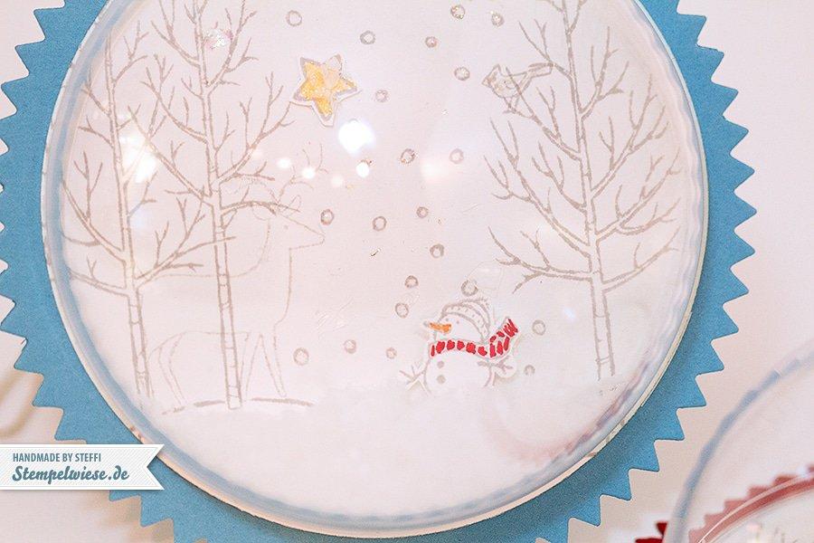Stampin' Up! - Weihnachtskugel - Dekoration - White Christmas -  Weiße Weihnacht ❤ Stempelwiese