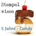 Blog Candy – 5 Jahre Stempelwiese – Auslosung