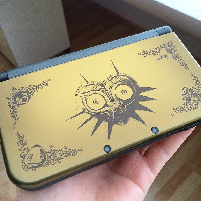 Gameboy Nintendo 3DS - Majora's Mask Edition