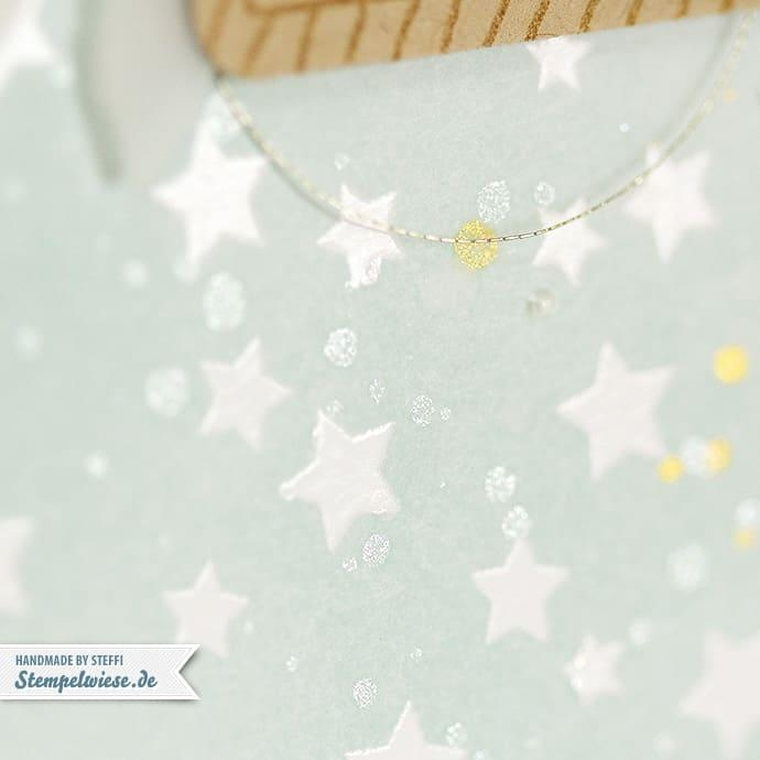 Stampin' Up! - Baby Boy - Zur Geburt - Junge - Himmelblau Etikettenanhänger Stanze - Note Tag Punch ❤ Stempelwiese
