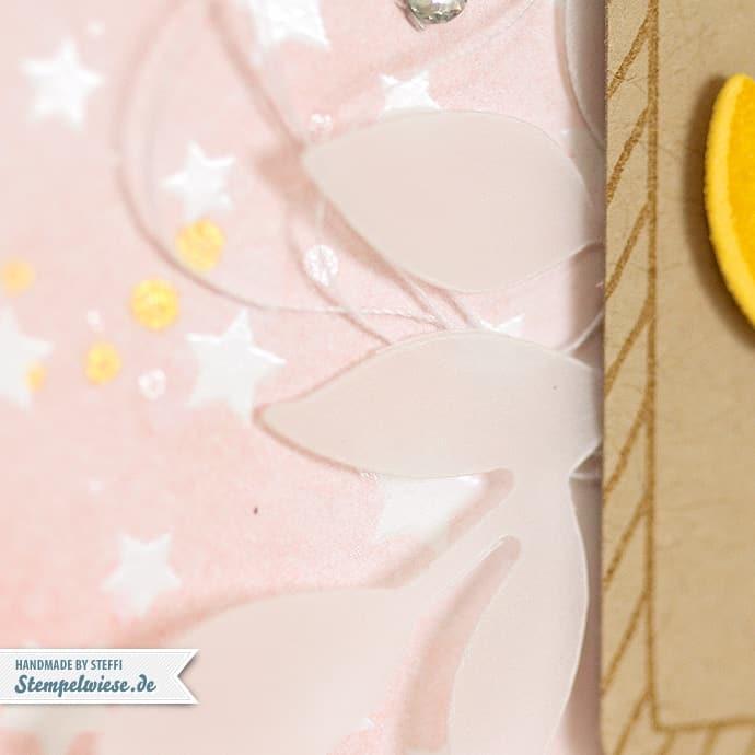 Stampin' Up! - Baby Girl - Zur Geburt - Mädchen - Kirschblüte - Etikettenanhänger Stanze - Note Tag Punch ❤ Stempelwiese