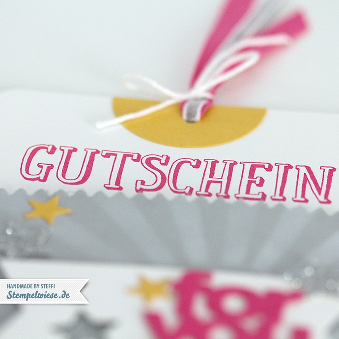 Stampin' Up! - Gutschein - Mini Leckereientüte - Mini Treat Bag - Candy ❤ Stempelwiese