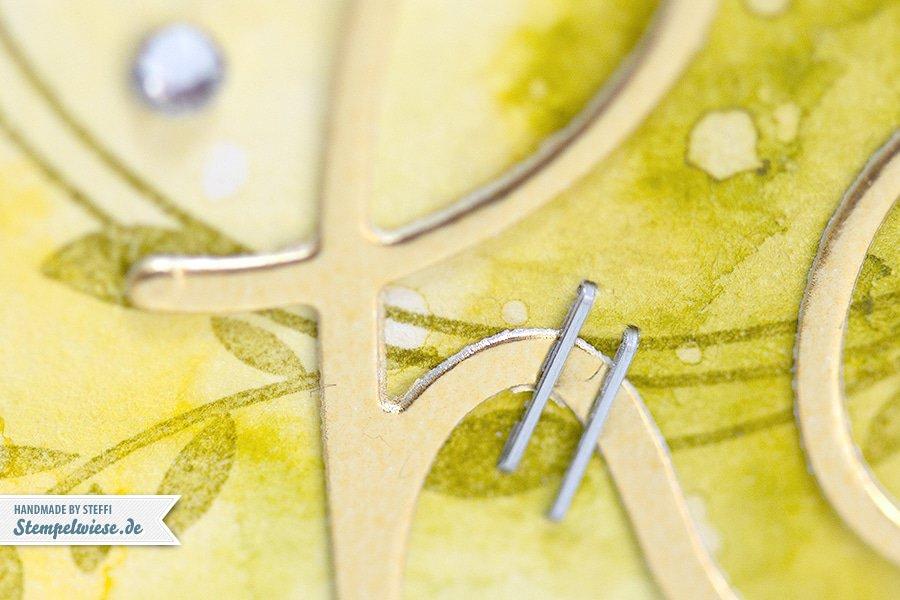 Stampin' Up! - Birthday Card - Water Color - Geburtstagskarte - Aquarell - Gold ❤ Stempelwiese