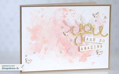 Grußkarte – You are so Amazing