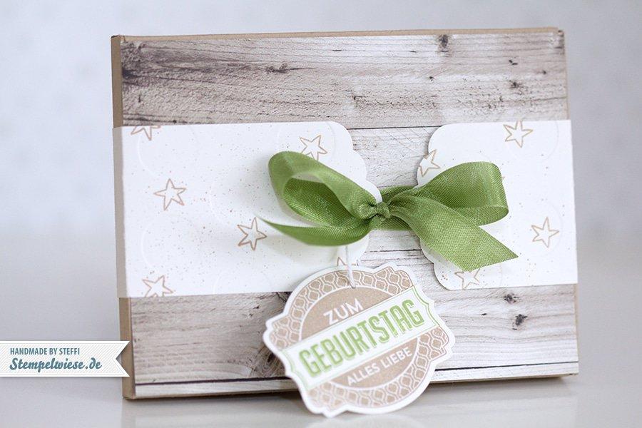 Ikea Grundtal Gewürzregal Edelstahl ~ Stampin' Up!  Verpackung mit dem Envelope Punch Board  Sanz und