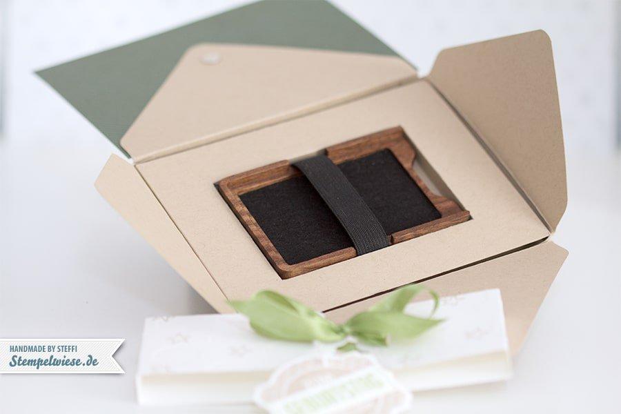 Stampin' Up! - Verpackung mit dem Envelope Punch Board - Sanz- und Falzbrett für Umschläge ❤ Stempelwiese