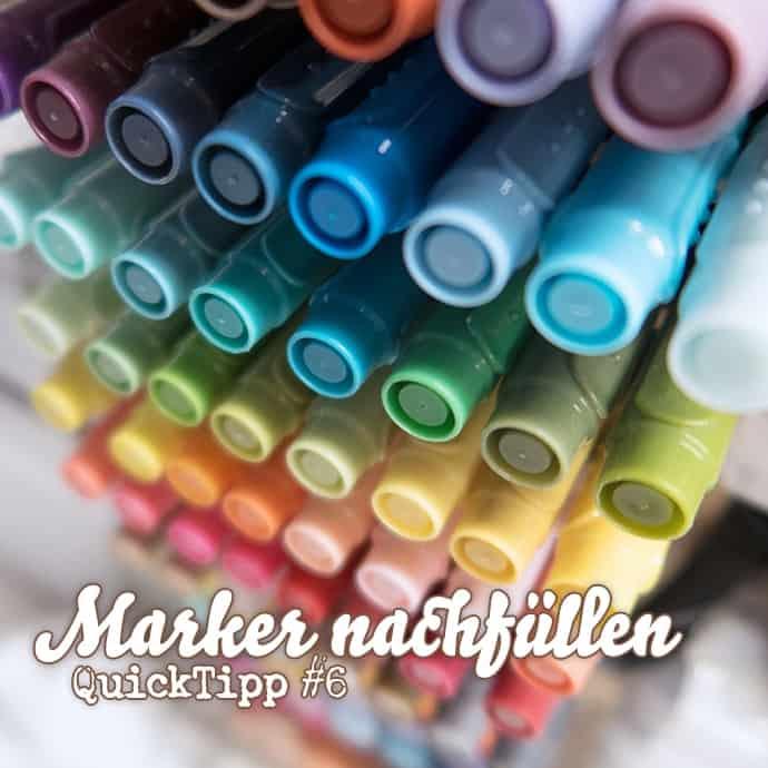 Video - QuickTipp - Stampin Write Marker nachfüllen