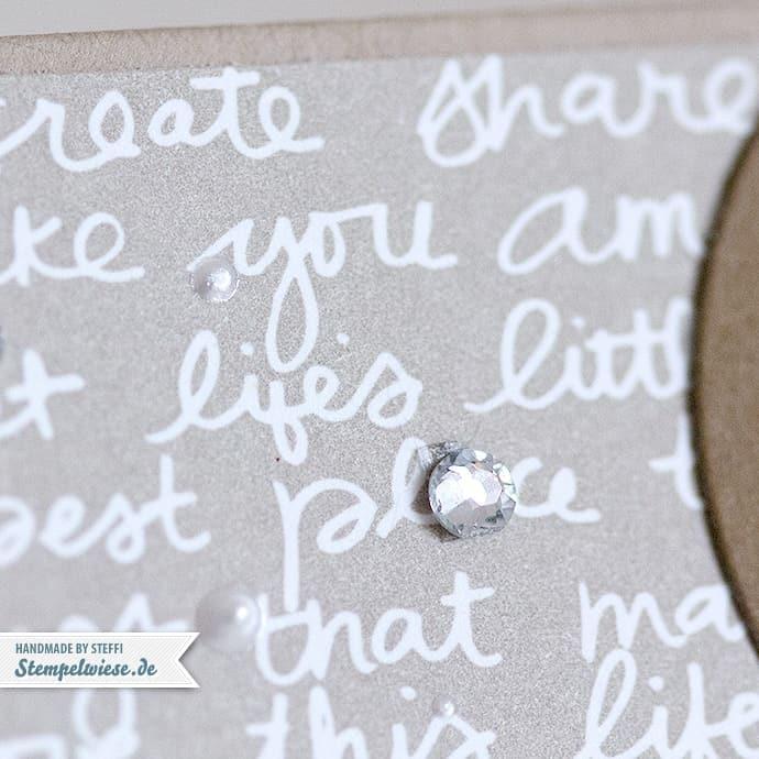 Stampin' Up! - Geburtstagskarte - Rainbow - Baumstanze - Worte, die gut tun ❤ Stempelwiese