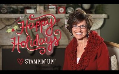 Video – Happy Holidays from Stampin' Up!