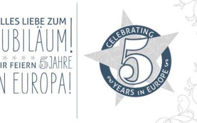 5 Jahre Stampin' Up! Europe und eine App