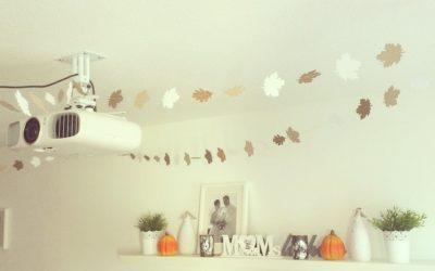 Blättergirlande hängt <3