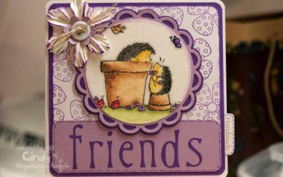 Freundekarte – Penny Black