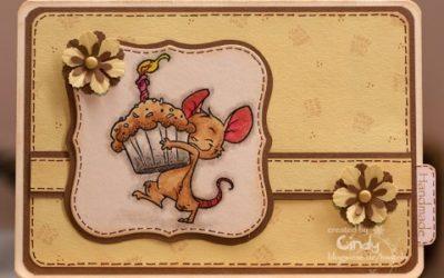 Geburtstagskarte – Whiff of Joy