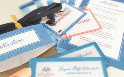 Gestern kamen endlich die Unterlagen für Madeira *freu*