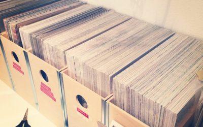 In Reih und Glied – Designerpapiere sind so weit eingeräumt und Archiviert