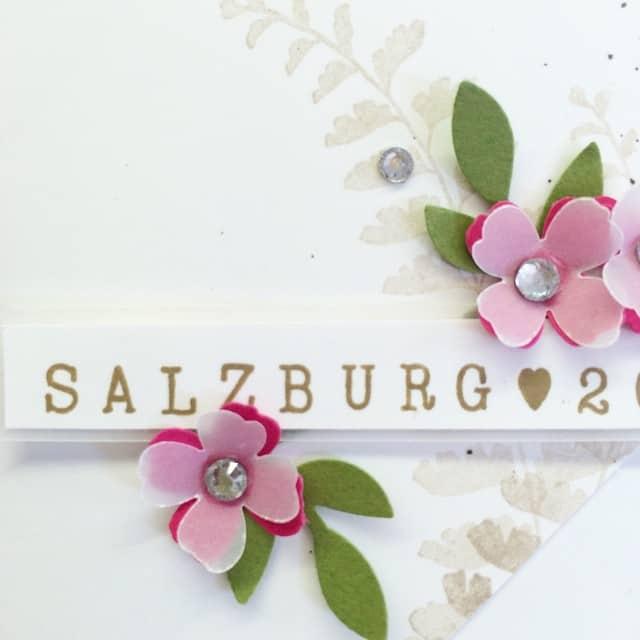 Meine Tauschprojekte für Demotreffen in Salzburg sind gleich fertig ️ #stampinup #vienna #demotreffen #salzburg #stempelwiese #lovemyjob