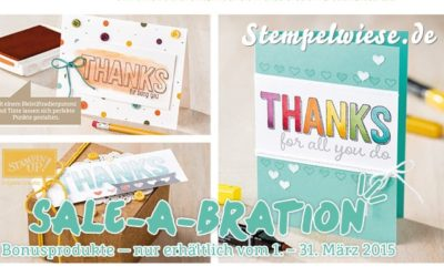 4 weitere tolle Sale-A-Bration Produkte