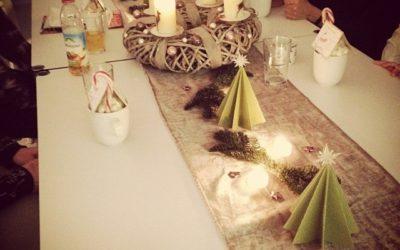 Weihnachtsfeier bei Claudia