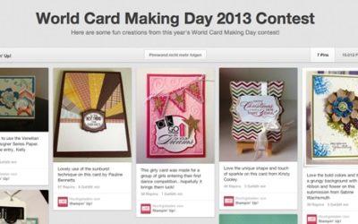 World Card Making Day 2013