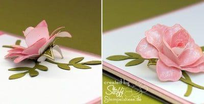 "Tutorial – 3D Rose aus dem Stempelset ""Zeitlos"""