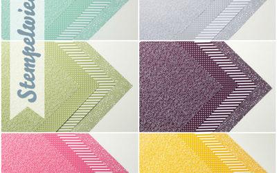 Designerpapier Share – Musterpakete 2015
