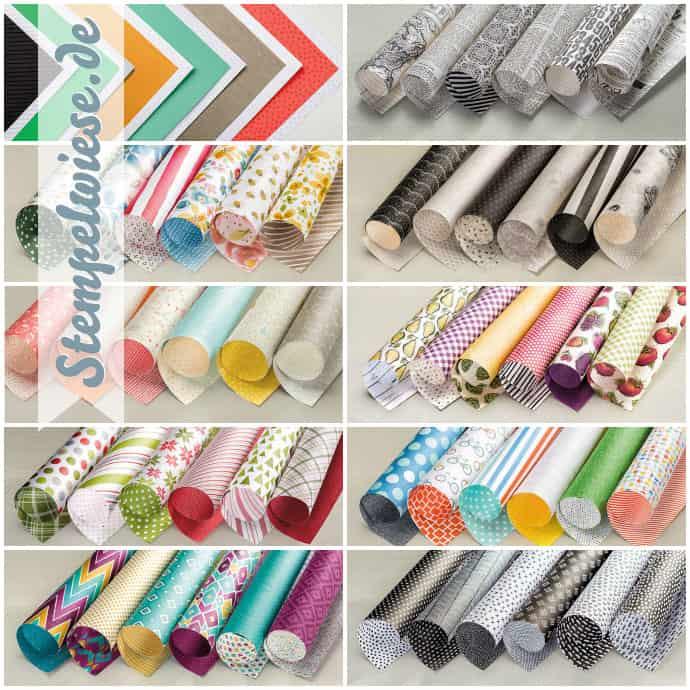 Designerpapier Share - Musterpakete 2015