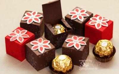 Tutorial – Ferrero Rocher schick verpackt