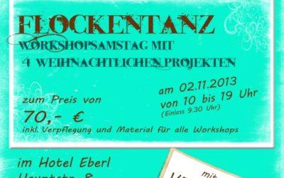 Wir laden zum Workshop ein (Raum Augsburg/München)