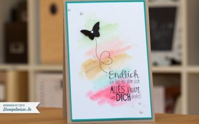 Geburtstagskarte mit den neuen InColor