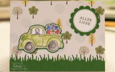 Geburtstagskarte – Stamp-a-ma-jig