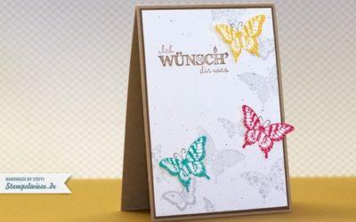 Video – How I make a card – Geburtstagskarte