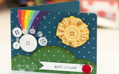 Geburtstagskarte – Rainbow