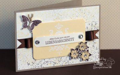 "Geburtstagskarte – Sale-A-Bration Set ""Glück"""