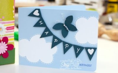 Geburtstagskarte und Box in a Bag
