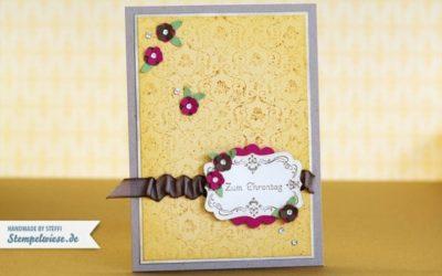 Geburtstagskarte mit kleine Wünsche