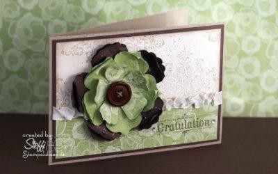 Geburtstagskarte – Blumenreigen