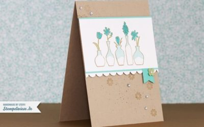 Video – How I make a card – Vivid Vases