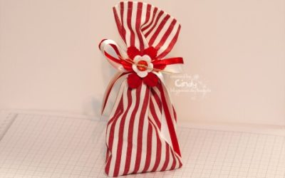 Geschenksäckchen selbstgenäht