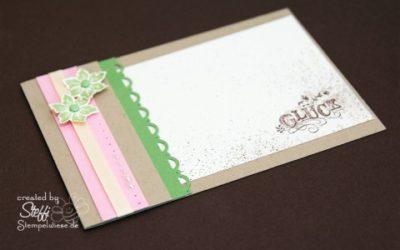 Glück – Einsteckkarte