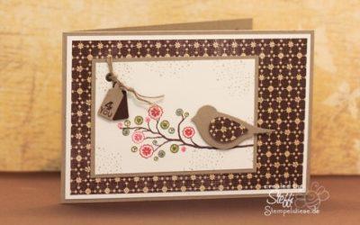 Geburtstagskarte – Vögelchen