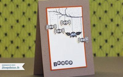 Halloween Karte – BOOOO
