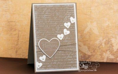 Hochzeitskarte – Schlicht & Elegant
