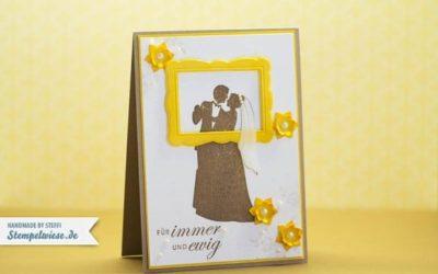 Hochzeitskarte – Für immer dein