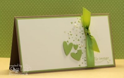 Hochzeitskarte passend zum Hochzeitsalbum