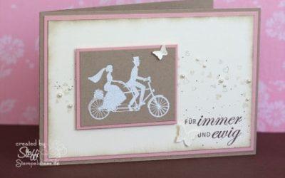 Hochzeitskarte – Wedding Wheels