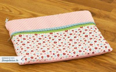 Eine genähte Tasche für mein iPad