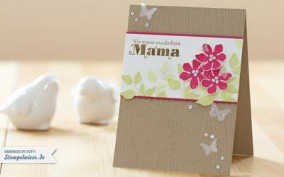 Muttertagskarte – Summer Silhouettes
