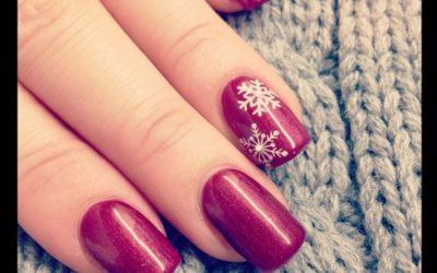Nail Design – Weihnachtlich Winterlich